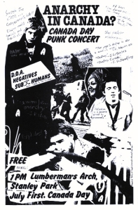 Anarchy day concert, 1978