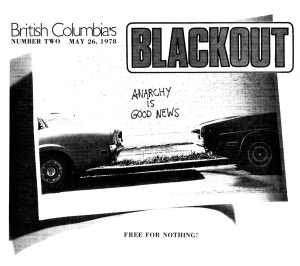 BlackOut cover, 1978