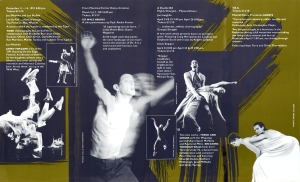Dance Brochure, Firehall Arts Centre, 1991