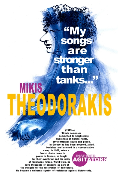 Mikis Theodorakis by David Lester 2007